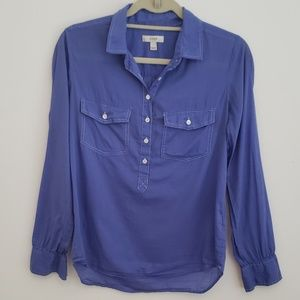 J Crew Henley Top